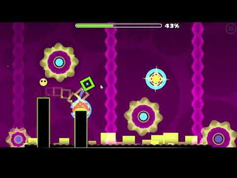 My Attempt On Getting The Icon. Electrodynamix 93% Geometry Dash (PC Version)