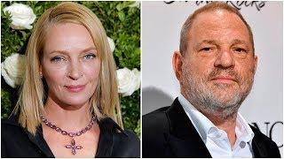 Uma Thurman alleges Harvey Weinstein misconduct