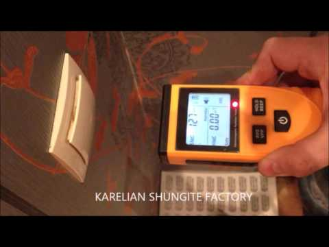 EMF protection shungite radiation from a light switch//KSF//