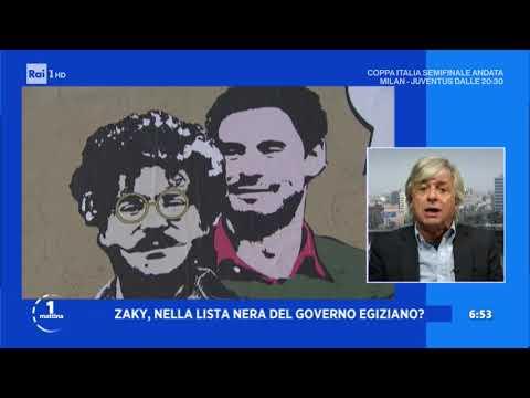 Il cairo: Zaky ancora in cella - Unomattina 13/02/2020