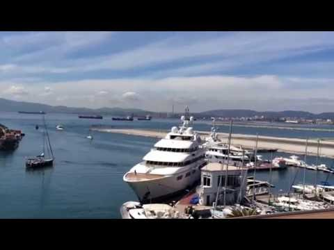 Gibraltar Ocean Village walking tour part 1