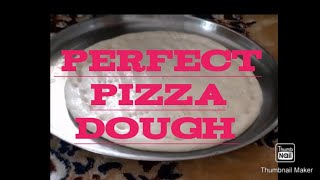 How to make perfect PIZZA DOUGH at Home//Pizza Base//
