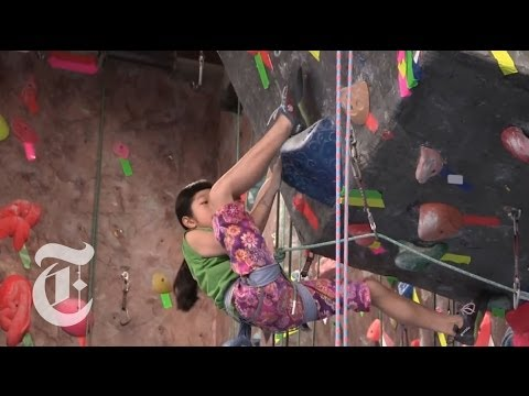 Ashima's Ascent: Rocking The Climbing World | The New York Times