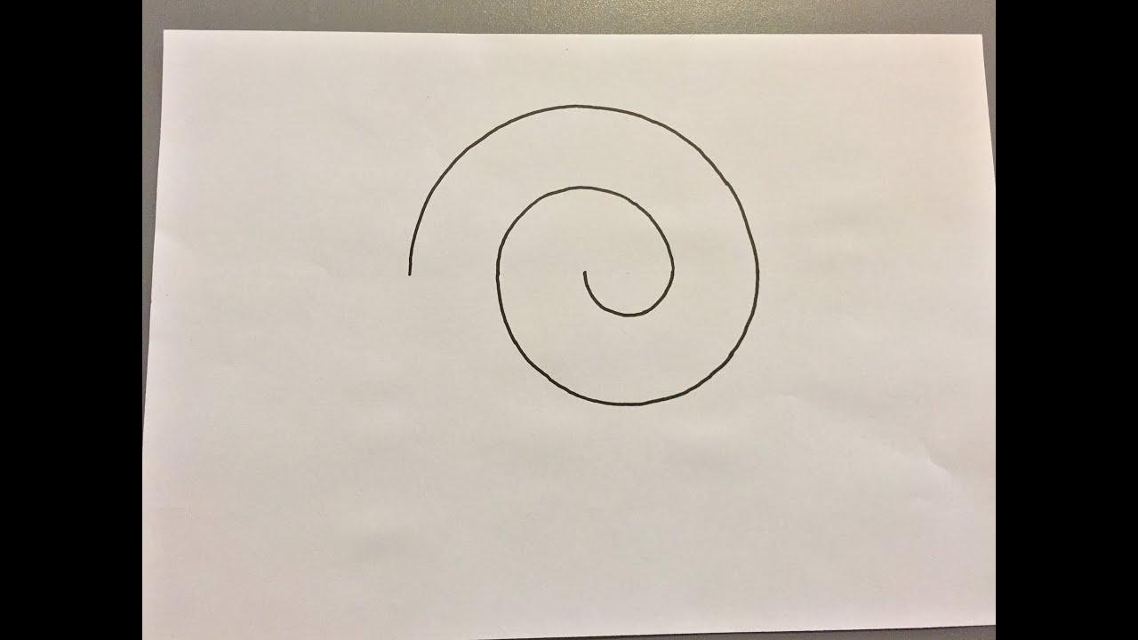 comment dessiner une spirale how to draw a spiral youtube. Black Bedroom Furniture Sets. Home Design Ideas