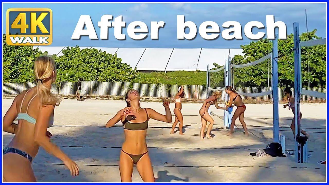 Download 【4K】WALK MIAMI beach FLORIDA USA 4k video US TRAVEL vlog HDR