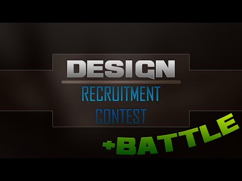 Designer | Recruitment Contest + Battle! | BonG Clan