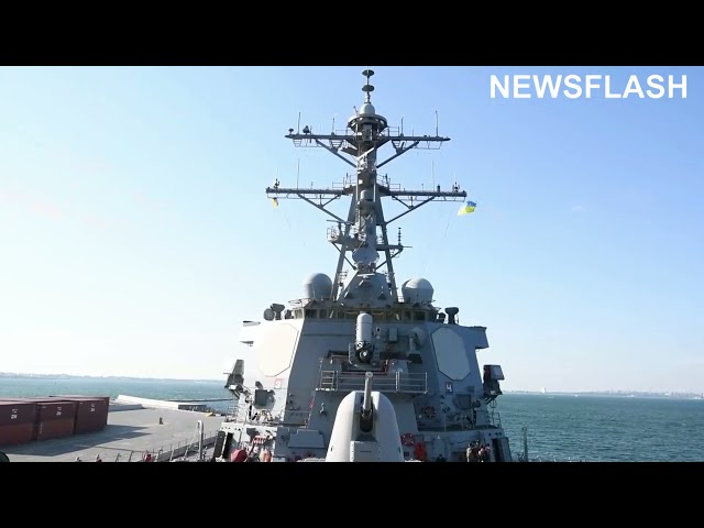 US Destroyer Arrives In Black Sea Amid High Tensions Between Ukraine, NATO And Russia