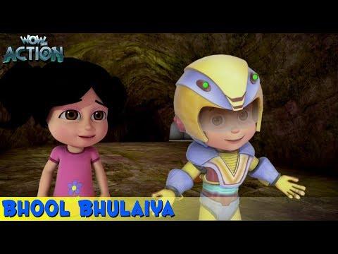Vir The Robot Boy | Hindi Cartoon For Kids | Bhool Bhulaiya | Animated Series| WowKidz Action thumbnail