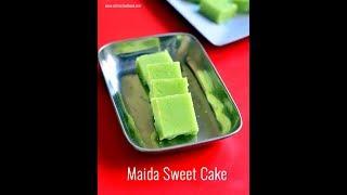 Maida Burfi - Maida burfi recipe - Easy Diwali Sweets - Maida Recipes Indian