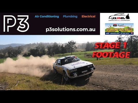Working Dog Rally - Stage 1 Footage