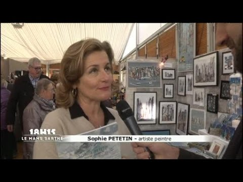 salon des cr ateurs 2016 sophie petetin artiste peintre le mans youtube. Black Bedroom Furniture Sets. Home Design Ideas