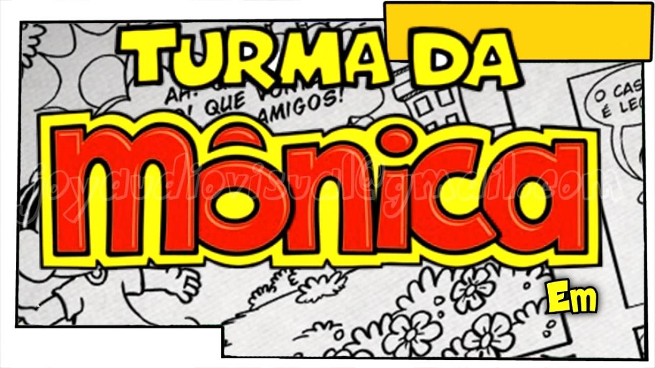 Convite Animado Turma Da Monica