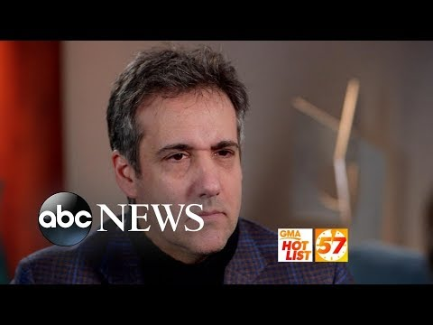 'GMA' Hot List: Michael Cohen speaks out after sentencing