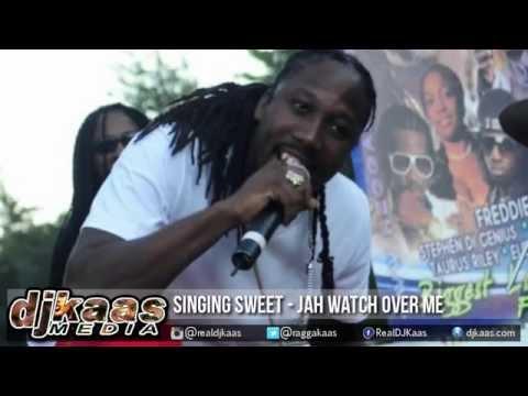 Singing Sweet - Jah Watches Over Me [Faithful Prayer Riddim] YardHype/DJ Kaas | Reggae 2015