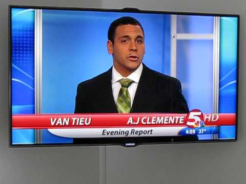 North Dakota News Bismarck  Anchor AJ Clemente Swears