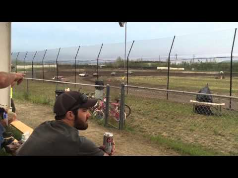 6-20-2015 Mitchell Raceway, Sportsman Feature (Dirt Shootout, Day 2)