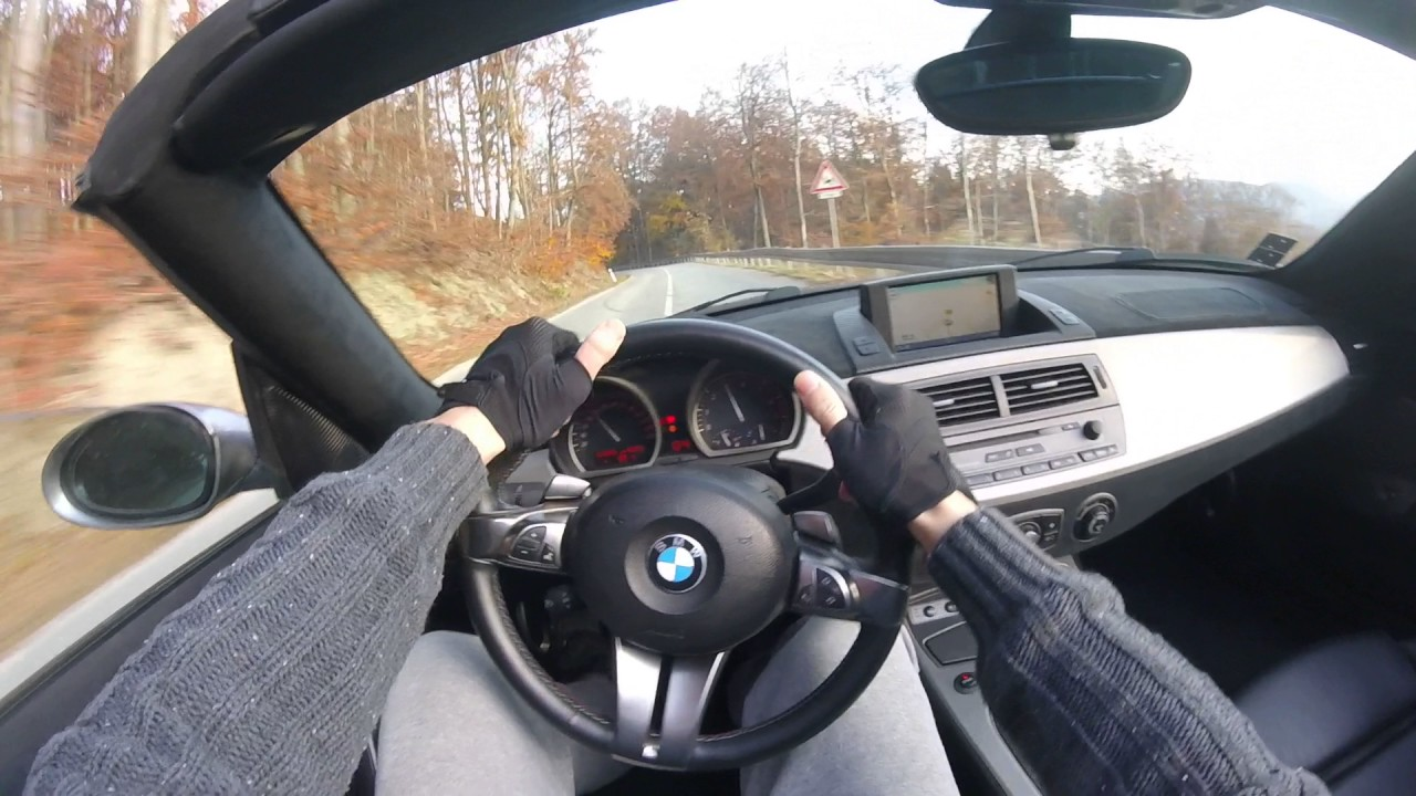 2004 bmw z4 - driving on board camera - youtube