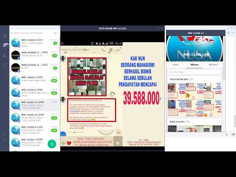 Preview Mobile Business - Cara Menggulung Omset Jutaan Rupiah By NMC - Nusa Media Creative