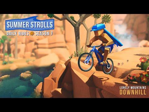 Lonely Mountains: Downhill получает крупное обновление, игра доступна в Game Pass