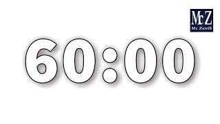 Conto alla rovescia 60 minuti - 60 Minute Countdown Timer