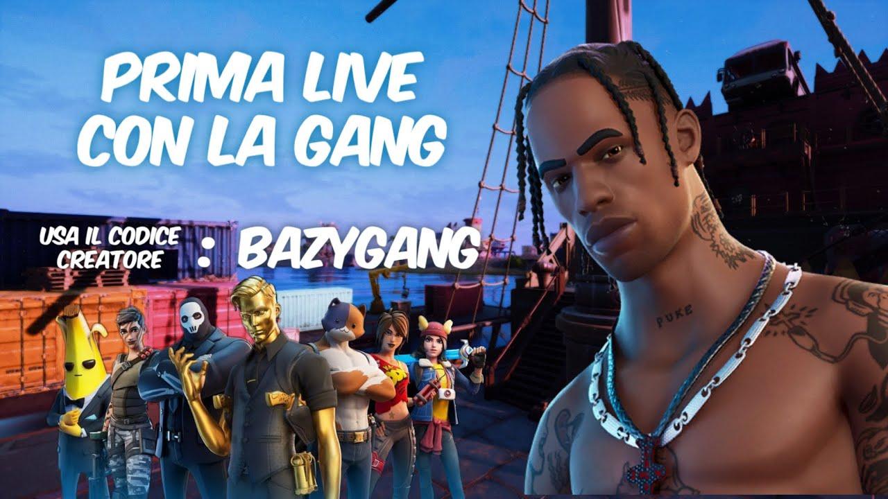 PRIMA LIVE DELLA GANG 🦋🎮🤘🏾🙌🏾❤️😄✅
