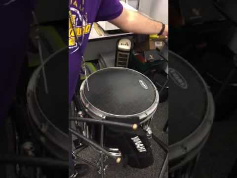 IHS Drumline Snare Audition Material