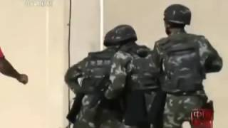 Chinese police SWAT teams won top places beating american marine