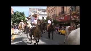 Festejan Día del Charro con desfile en Guadalajara