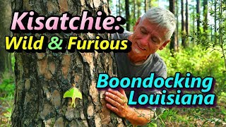 Kisatchie:Wild and Furious! B๐ondocking Louisiana