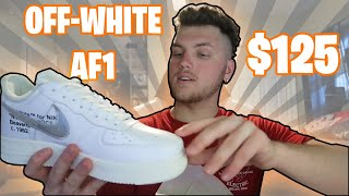 $150 Off-White Air Force 1 From Off-White Factory(OWF) --- UA SHOE HAUL