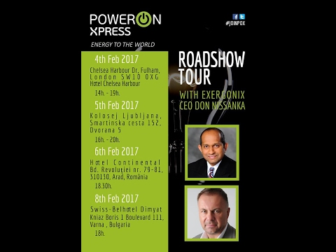 Power On Xpress 2017 Launch and Ethereum Block Chain Review.  #CryptoCurrency #BitCoin