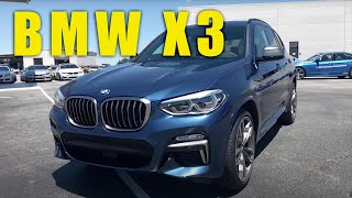 The new 2018 BMW X3 live from Spartanburg