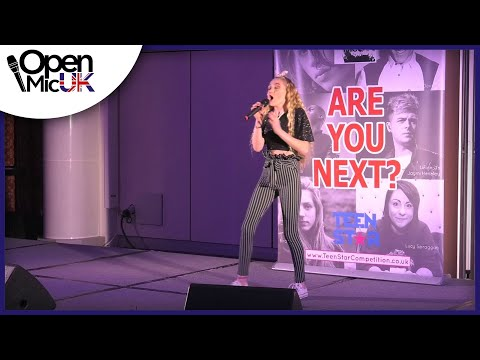 BIRD SET FREE – SIA performed by KEZIA at Open Mic UK music competition