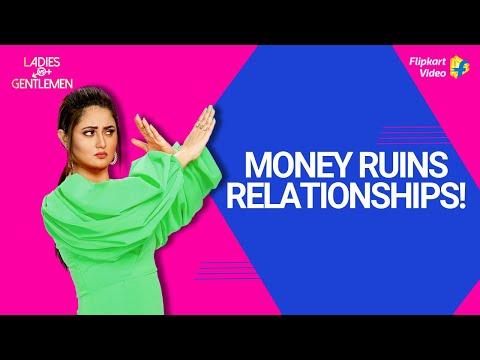 Rashami Desai says money poisons relationships! | Ladies v/s Gentlemen | Flipkart Video