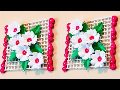 DIY | Home Decoration ideas with papers| Paper Flower making| Paper Crafts| CrazeeCrafts