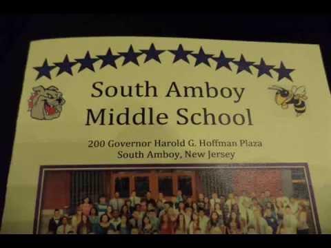 Jordan's Graduation, South Amboy Middle School 2013