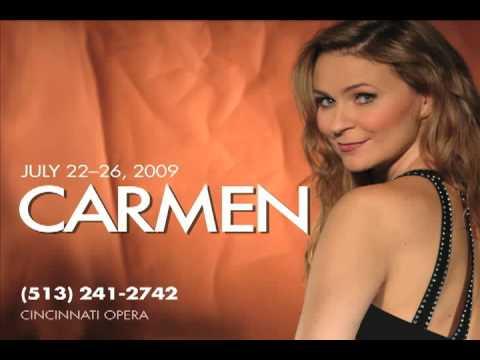 Ruxandra Donose in Rehearsal for Carmen