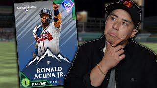 99 RONALD ACUNA HITS A WALK OFF HOMER IN DEBUT?! MLB THE SHOW 21