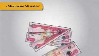 Tips for depositing cash in a Emirates NBD Cash Deposit Machine  نصائح الإيداع النقدي