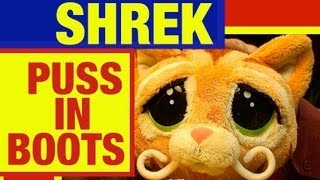 """Shrek """"Puss in Boots"""" Sweet Talking, Interactive Plush, Toy Review by Mike Mozart on ToyReviews"""