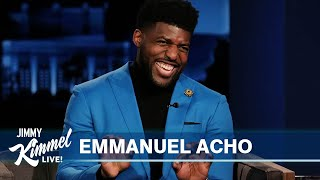 Emmanuel Acho on Uncomfortable Conversations About Race & Working with Oprah