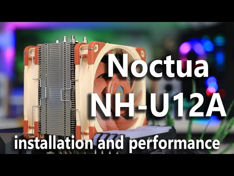 Noctua NH-U12A Installation + 34 Cooler Comparison