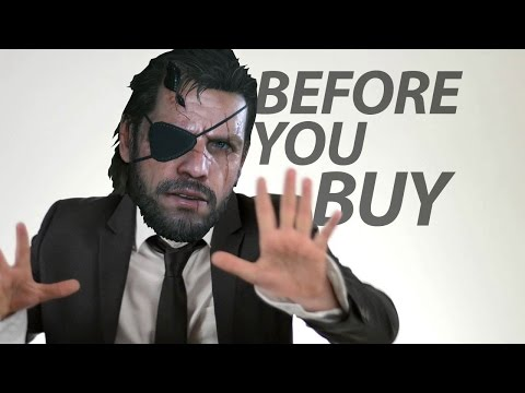 Metal Gear Solid V The Phantom Pain: Before You Buy