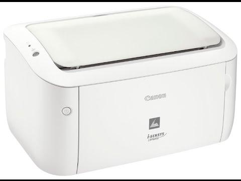 выбор принтера CANON LBP6000 - YouTube