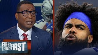 Dallas does not have to sign Zeke to a contract - Cris Carter | NFL | FIRST THINGS FIRST