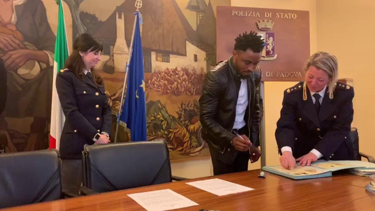 Padova, rilasciati due permessi di soggiorno per valore in Italia ...