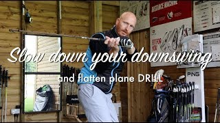 Slow down your downswing - Slower from the top