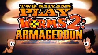 Two Saiyans Play: Worms 2: Armageddon