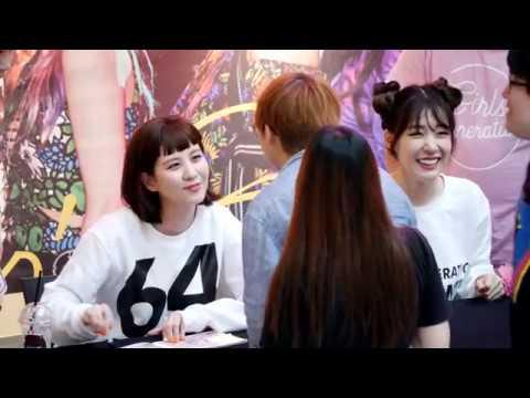 170813 소녀시대 SNSD _ 티파니, 서현 Tiffany, SeoHyun 02 _ 팬싸인회  Fan Sign Event _여의도 IFC몰