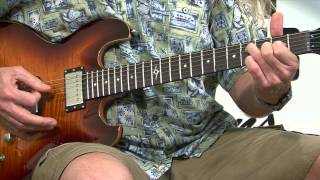 Free Guitar Lessons - Pinball Wizard The Who Part 1